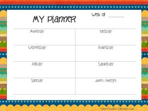 kids planner 1 pic